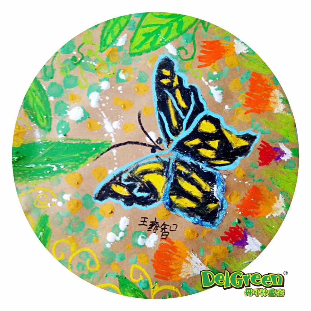 春天是一年之始,是万物复苏的季节,春天植物开始发芽,春天是一切美好景色的开始,那么关于春天的重彩油画棒绘画作品有哪些呢?下面小编分享一组老师分享的蝴蝶的写生作品,让我们一起迎接春天的到来,感受春天的气息吧。 作品作者:不详 使用工具: